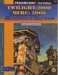 RPG Item: Twilight: 2000 / Merc: 2000 Referee's Screen