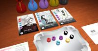 Board Game: Surrealist Dinner Party