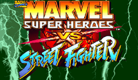 Video Game: Marvel Super Heroes vs. Street Fighter