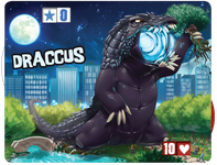 Board Game Accessory: King of Tokyo: Draccus (promo character)