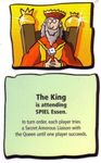 Board Game: Feudality: The King Promo Card