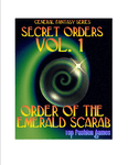 RPG Item: Secret Orders Vol. 1: Order of the Emerald Scarab