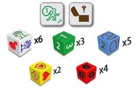 Board Game: Dungeon Dice: Five-Player Booster Pack