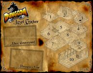 Board Game Accessory: Dungeon Roll: Level Tracker