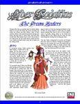 RPG Item: Liber Sodalitas: The Dream Healers