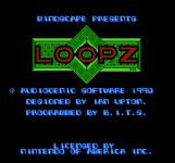 Video Game: Loopz