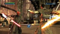Video Game: Star Wars: The Force Unleashed