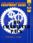 RPG Item: HERO System Equipment Guide Character Pack (HD Character Pack)