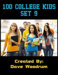 RPG Item: 100 College Kids Set 9