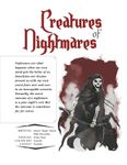 Issue: EONS #34 - Creatures of Nightmares