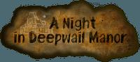 Board Game: A Night in Deepwail Manor
