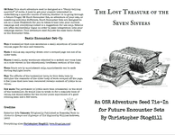 RPG Item: The Lost Treasures of the Seven Sisters