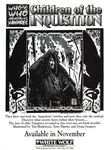 RPG Item: Who's Who Among Vampires: Children of the Inquisition