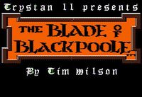 Video Game: The Blade of Blackpoole