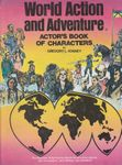 RPG Item: World Action and Adventure:  Actor's Book of Characters