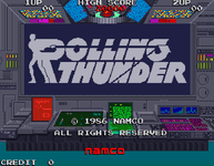 Video Game: Rolling Thunder