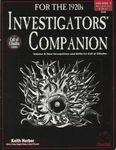 RPG Item: Investigators' Companion, Volume 2: Occupations & Skills