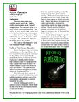RPG Item: Advanced Prestige Class: Arcane Operative