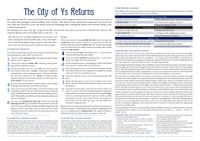 RPG Item: The City of Ys Returns