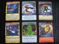 Board Game: Mage Wars: Dice Tower 2013 funding campaign promo card set