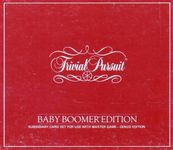 Board Game: Trivial Pursuit: Baby Boomer Card Set
