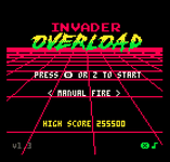 Video Game: Invader Overload