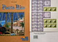 Board Game: Puerto Rico: Expansion I – New Buildings