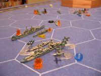 Board Game: Axis & Allies Naval Miniatures: War at Sea