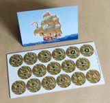 Board Game: Tortuga: Queenie 1 – Treasure Tiles