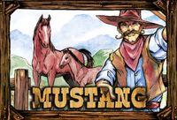 Board Game: Mustang