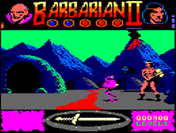 Video Game: Barbarian II: The Dungeon of Drax