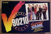Board Game: Beverly Hills 90210 Survey Game