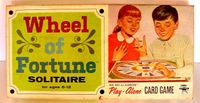 Board Game: Wheel of Fortune Solitaire