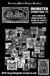RPG Item: Olde Skool Back2basics: Monster Counters #1
