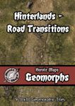 RPG Item: Heroic Maps Geomorphs: Hinterlands - Road Transitions