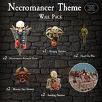 RPG Item: Necromancer Theme Wall Pack