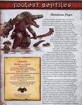 RPG Item: Foulest Reptiles