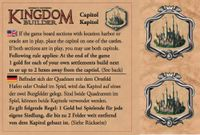 Board Game: Kingdom Builder: Capitol
