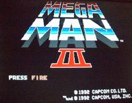 Video Game: Mega Man III (PC)