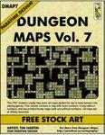 RPG Item: DMAP7: Dungeon Maps Vol. 7