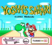 Video Game: Yoshi's Safari