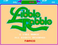 Video Game: Libble Rabble