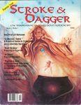 Issue: Stroke & Dagger (Issue 1 - Oct 1992)