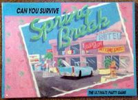 Board Game: Can You Survive Spring Break