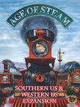 Board Game: Age of Steam Expansion: Southern US / Western US