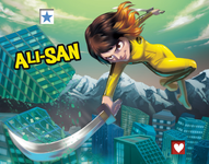 Board Game Accessory: King of Tokyo: Ali-San (promo character)
