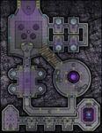 RPG Item: VTT Map Set 233: Lunar Base Cargo Docking Bay