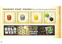 Board Game: Gold West: Trading Post Promo