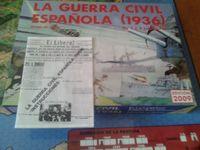 Board Game: La Guerra Civil Española (1936): Edición 2009