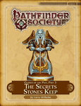 RPG Item: Pathfinder Society Scenario 4-25: The Secrets Stones Keep